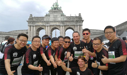 Brussels Office team at 20km