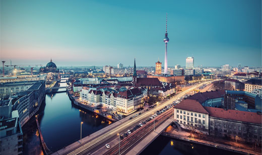 The 5G antennae erected in Berlin will convert the city into a testbed for the new technology, due to roll out commercially from 2020 onward.