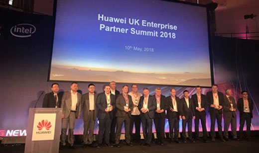 Several key Huawei partners received awards at the Huawei UK Channel Conference on 10 May.