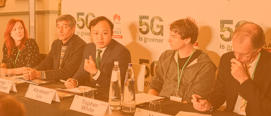 """Europe's digital sovereignty and its sustainable development are complementary objectives�: Abraham Liu, Huawei's Chief Representative to the EU Institutions, at the 5G Assembly press conference"