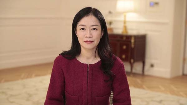 Huawei Corporate Senior Vice President and Director of the Board Ms Catherine Chen