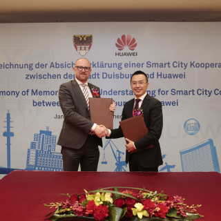 Huawei to build smart city in Duisburg, Germany
