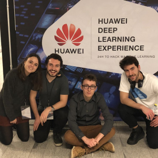 Student Challenge winners develop neural net for images Event