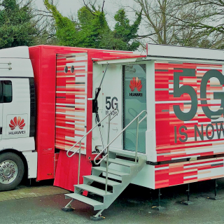 This Monday: Huawei's 5G Demo Truck comes to Brussels