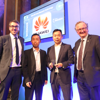 "Huawei wins the ""Best 5G Core Network Technology"" award"