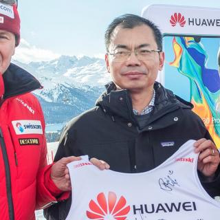 Huawei teams up with Swiss Ski