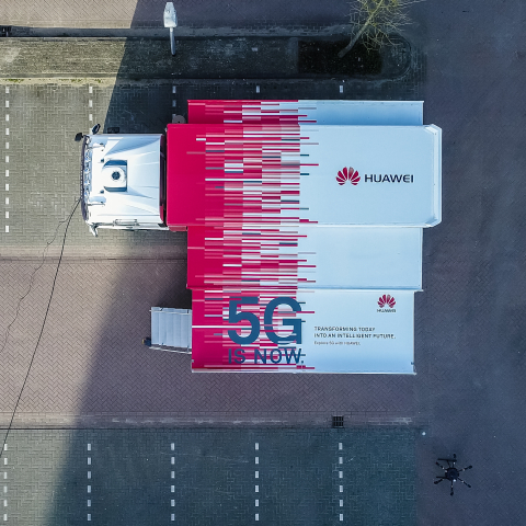 The Huawei 5G Demo Truck