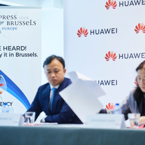 Brussels media roundtable with Huawei's Chen Lifang